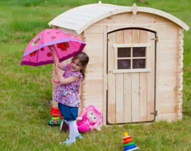 Vlastní zahradní domek – sen každého dítěte