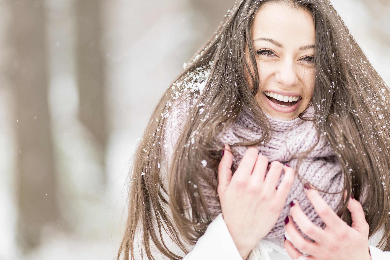 Zimní péče o vlasy - Creative Commons (www.shutterstock.com)