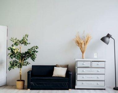Nový nábytek, rovná se nové bydlení